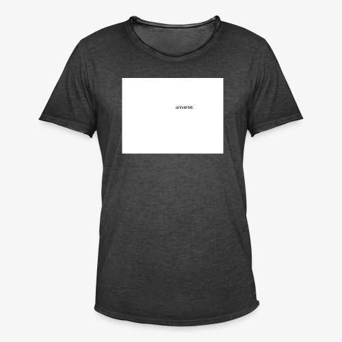 UNIVERSE BRAND SPONSOR - Maglietta vintage da uomo