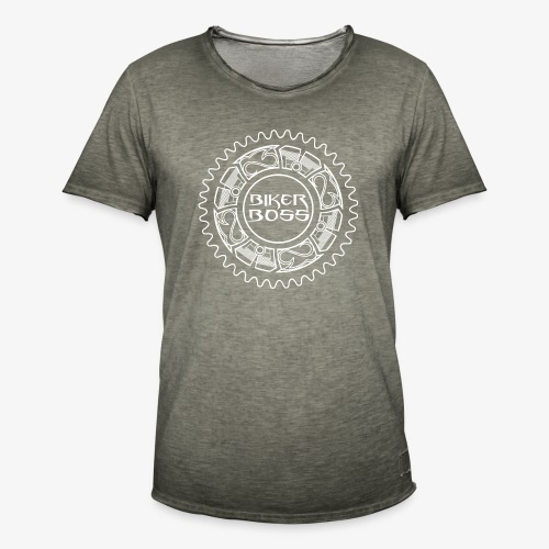Bikerboss - T-shirt vintage Homme