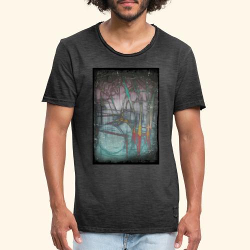 Drums Popart - Männer Vintage T-Shirt