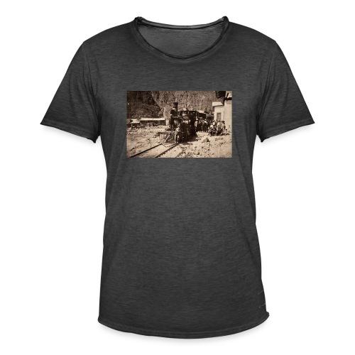 Peruvian train - Camiseta vintage hombre