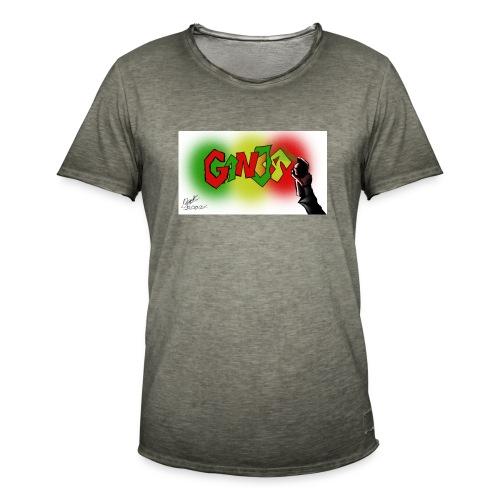 Ganja - Herre vintage T-shirt