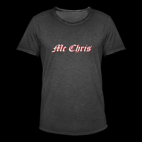 McChrislOGO11 - Männer Vintage T-Shirt