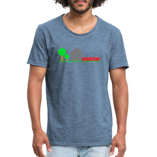 Hausmeister - Männer Vintage T-Shirt