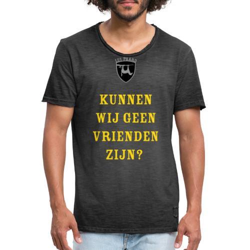 Lui paard vrienden - Mannen Vintage T-shirt