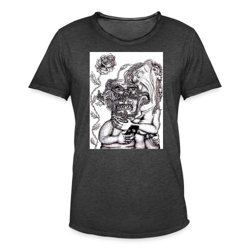 Piercat par - Vintage-T-shirt herr