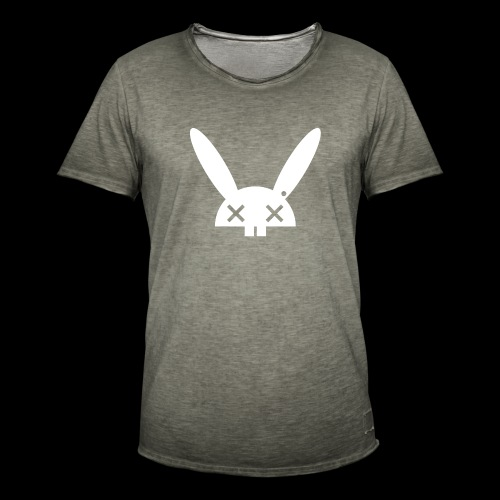 HARE5 LOGO TEE - Men's Vintage T-Shirt