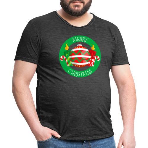 merry christmas 02 - Camiseta vintage hombre