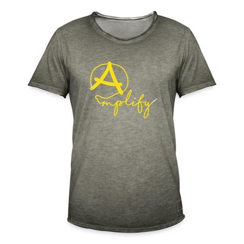Amplify - Vintage-T-shirt herr