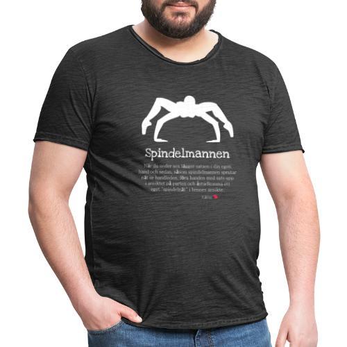 Spindelmannen - Vintage-T-shirt herr