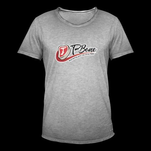 ulfTBone - Mannen Vintage T-shirt