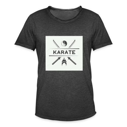 Karatedo - Camiseta vintage hombre