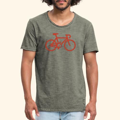 Rennrad, Race-Bike, Fahrrad - Männer Vintage T-Shirt