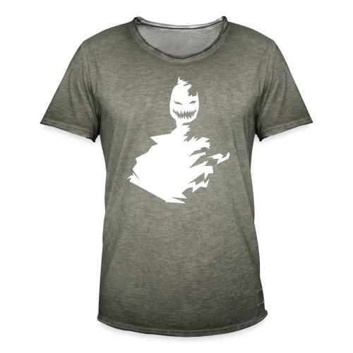 t-shirt monster (white/weiß) - Männer Vintage T-Shirt