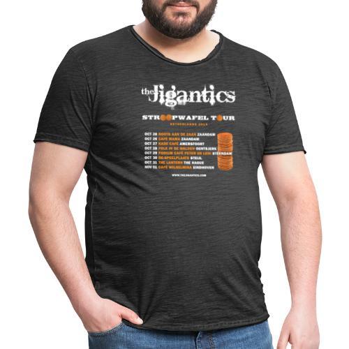 The Jigantics - Netherlands tour 2014 - Men's Vintage T-Shirt