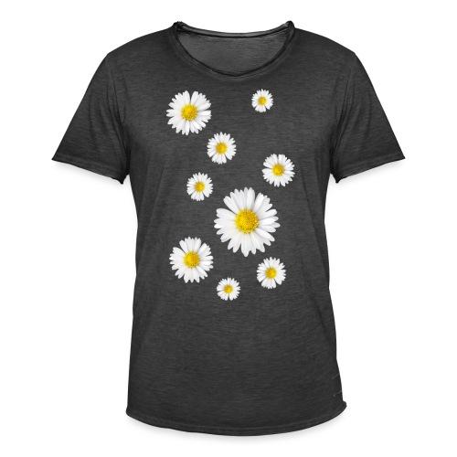 Gänseblumen, Gänseblümchen - Männer Vintage T-Shirt