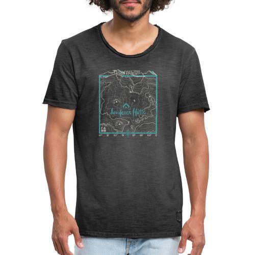 Laufener Hütte im Tennengebirge - Smalt Blue - Men's Vintage T-Shirt