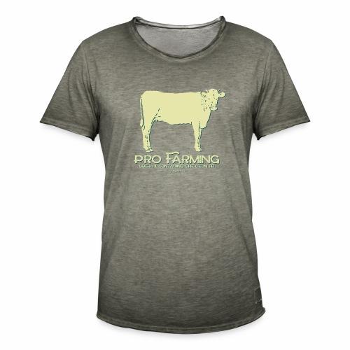 PRO Farming - Maglietta vintage da uomo