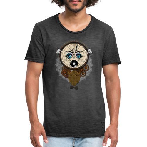 Remember the future : souviens-toi du futur - Or - T-shirt vintage Homme