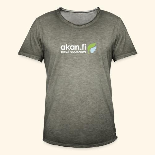 Akan White - Vintage-T-shirt herr