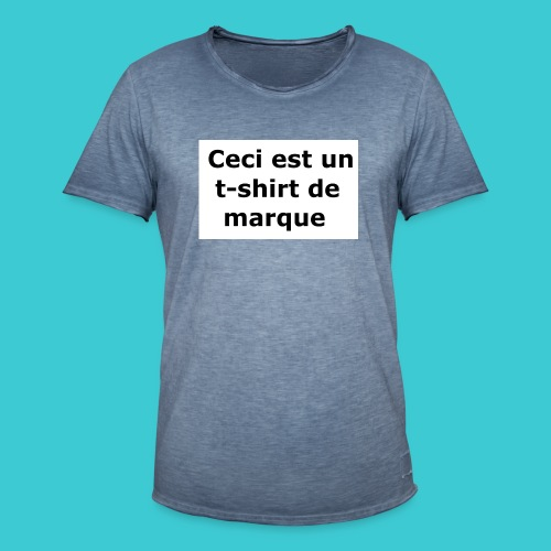 t-shirt2 - T-shirt vintage Homme