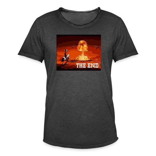 THE END (version 2 : pour toute couleur de fond) - T-shirt vintage Homme