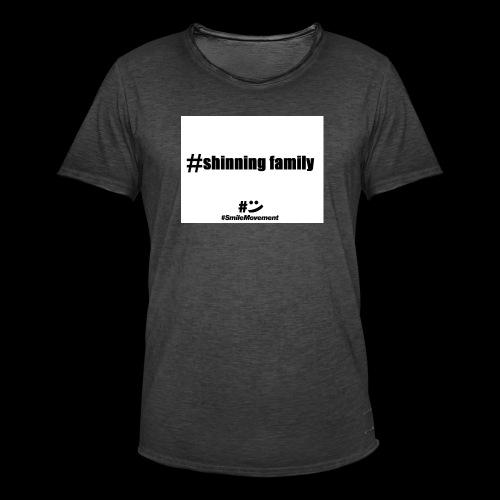 shinning family - T-shirt vintage Homme