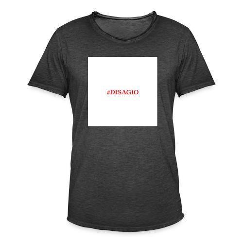 COLLEZIONE UNISEX #DISAGIO - Maglietta vintage da uomo