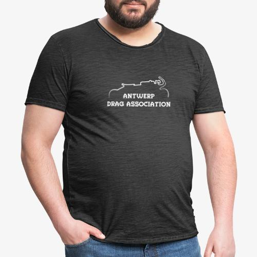 ADA DRAG Logo Petit Blanc - T-shirt vintage Homme