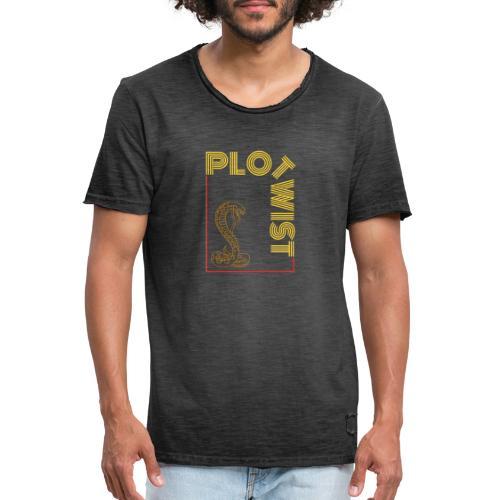 Plotwist - Männer Vintage T-Shirt