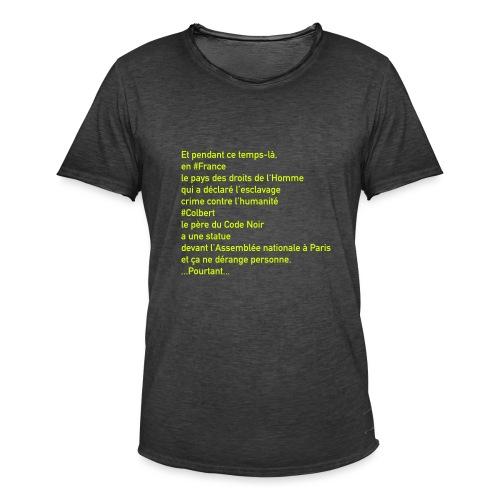 Colbert - T-shirt vintage Homme