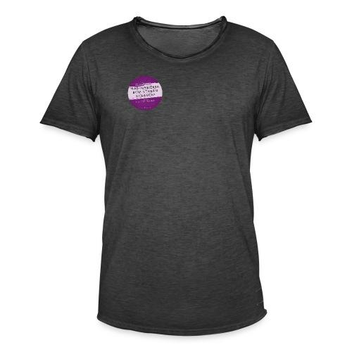 #naunddasbuch Stream - Männer Vintage T-Shirt