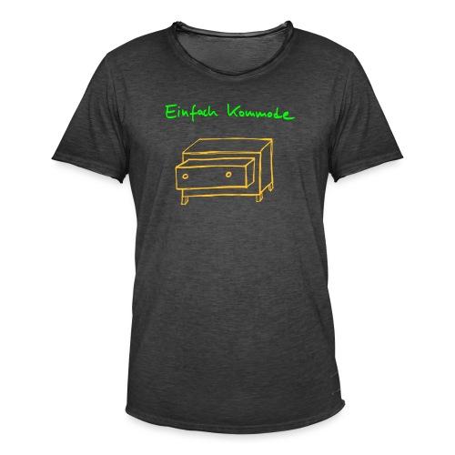 Einfach Kommode - Männer Vintage T-Shirt