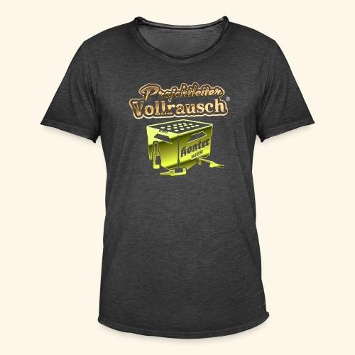 Projektleiter Vollrausch (R) - das Original - Männer Vintage T-Shirt
