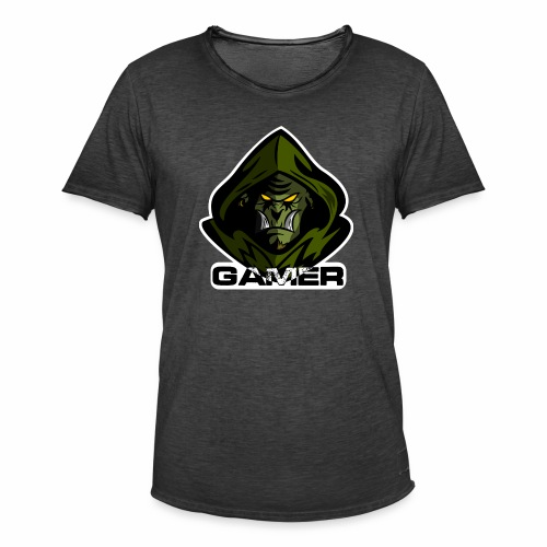 Orco Gamer - Camiseta vintage hombre