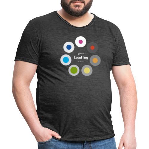 Energie Loading... - Männer Vintage T-Shirt