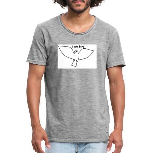 i am birb - Men's Vintage T-Shirt