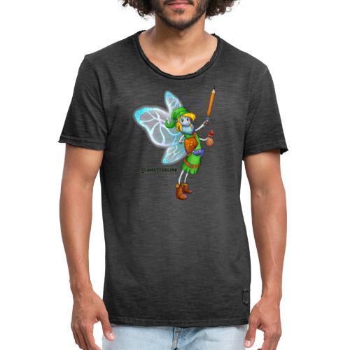 Schmetterlink - Männer Vintage T-Shirt