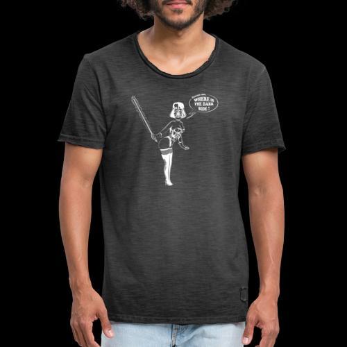 Pin up Vador - T-shirt vintage Homme