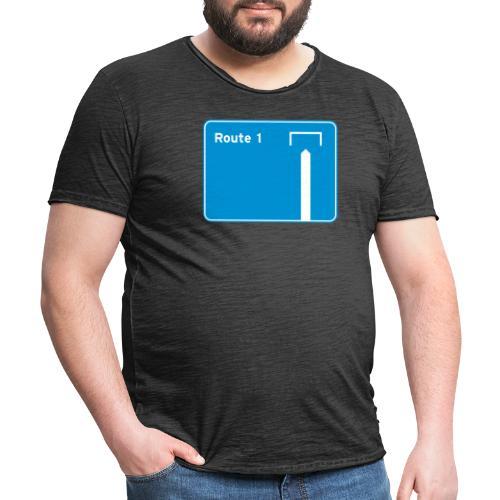 Route 1 - Men's Vintage T-Shirt