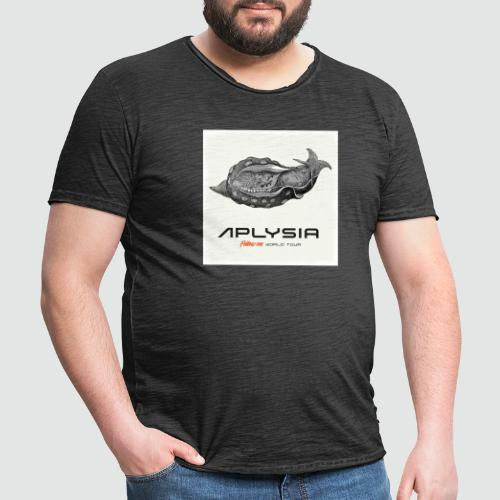 Aplysia Meeresschnecke Albumcover Follow me - Männer Vintage T-Shirt