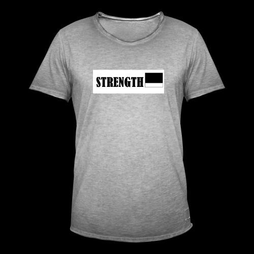 STRENGTH - Miesten vintage t-paita