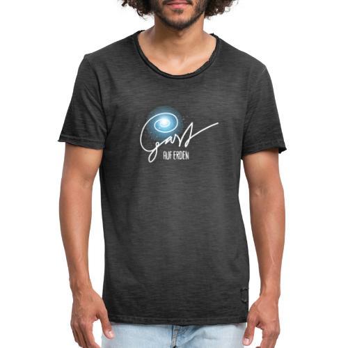 Gast auf Erden - Männer Vintage T-Shirt