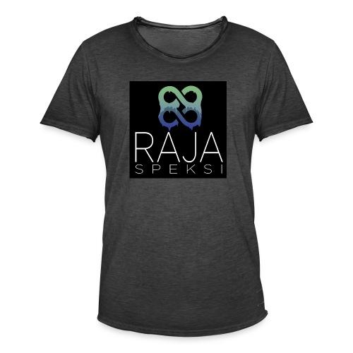 RajaSpeksin logo - Miesten vintage t-paita