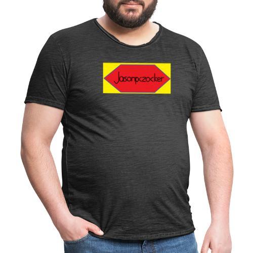 Jasonpczocker Design für gelbe Sachen - Männer Vintage T-Shirt