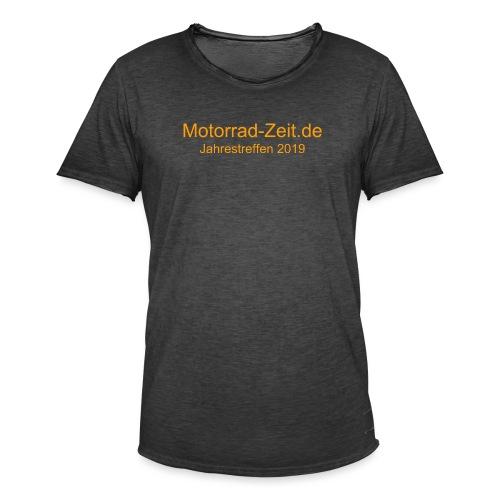 Jahrestreffen 2019 ohne Logo - Männer Vintage T-Shirt