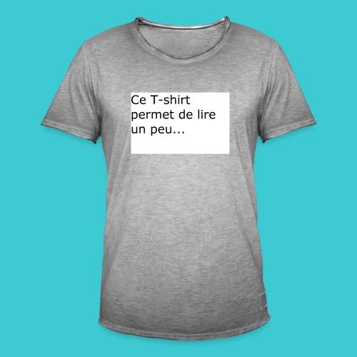 t shirt3 - T-shirt vintage Homme