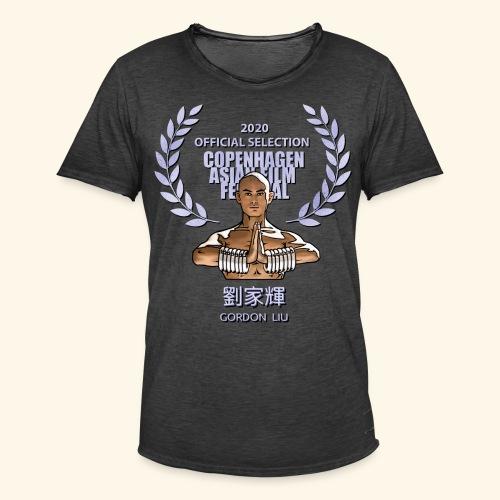 CAFF Official Item - Shaolin Warrior 1 - Herre vintage T-shirt