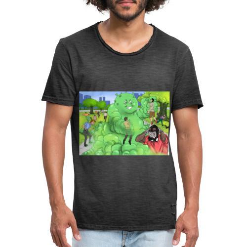 COVID-19 - Männer Vintage T-Shirt