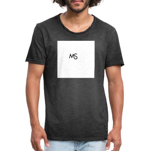 Logo - Männer Vintage T-Shirt