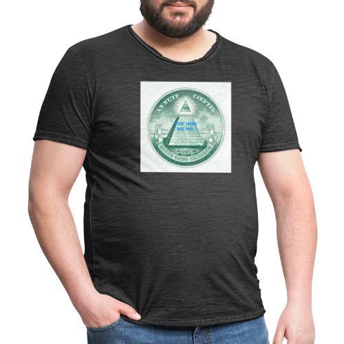 Stay Home - Männer Vintage T-Shirt